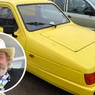 Jerry Jarvis, from Sheringham, is sellinghis replica of the Trotter's three wheeler from Only Fools and Horses.