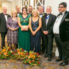 Weston MP John Penrose attends charity ball in town.
