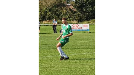 Worle's Ryan Down scored a brace in their 3-3 draw with Middlezoy Rovers.
