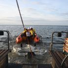 RNLI Wells was tasked by HM Coastguard with assisting a woman who had gotten into difficulties near Blakeney harbour.