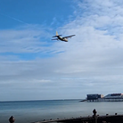 The MC-130J Commando thought to be from RAF Mildenhall flew over Cromer Pier and Beach in the late morning of October 26.