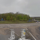 The A47 and A11 at the Thickthorn Interchange in Norwich