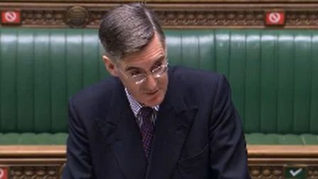 Commons leader Jacob Rees-Mogg; Parliamentlive