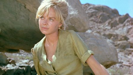 Actress Susannah York as Grace Monckton in the film 'Sands of the Kalahari', 1965. Picture: Getty Im