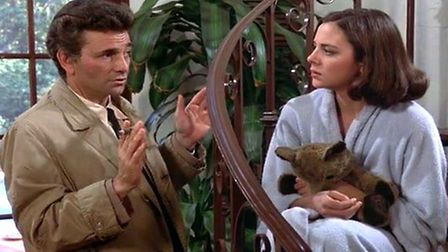 Peter Falk played Lieutenant Columbo in a popular American detective series. Photo: Contributed