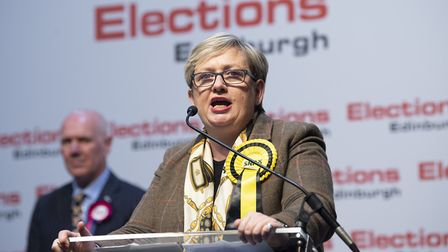 Edinburgh South West MP Joanna Cherry retains her seat at the UK Parliamentary General Election. Pho