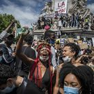 Anti-racism protests have swept through European nations as well as the UK and US. Here, protestors