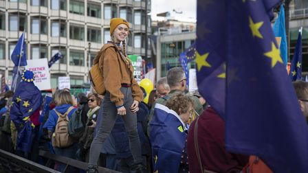 Young people have already shown their support for the EU through People's Vote marches against the B