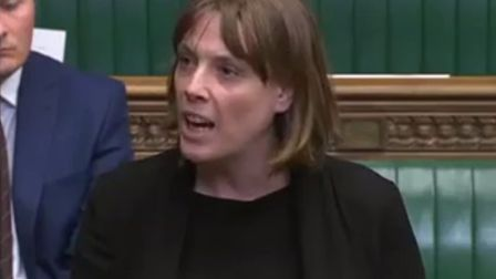 Jess Phillips in the House of Commons. Photograph: Parliament TV