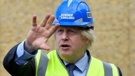Boris Johnson was accused of discussing the Westferry Printworks scheme with Richard Desmond during