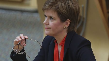 First Minister Nicola Sturgeon. Photograph: Fraser Bremner/Scottish Daily Mail/PA.