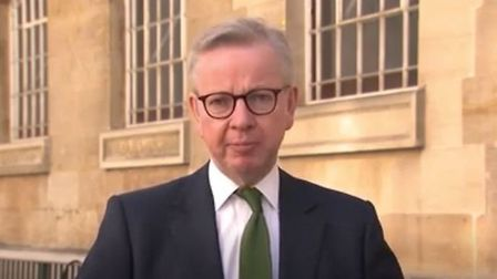 Cabinet Office minister Michael Gove announced �700m in border control measures in July; PA media
