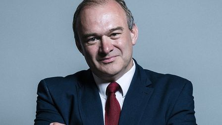 Ed Davey, interim leader of the Lib Dems. Photograph: House of Commons.