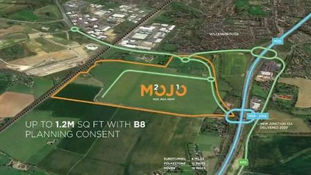 The Department for Transport has earmarked 27 acres of farmland in Kent to build a 'Brexit lorry par