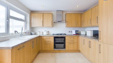 The spacious kitchen/breakfast room