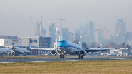 London City Airport; Picture: Andrew Baker