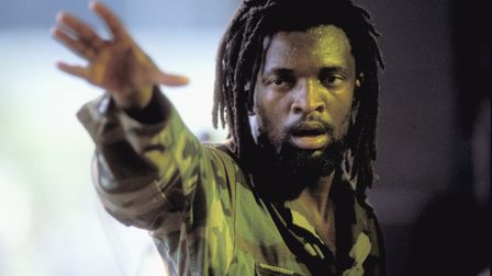 South African singer Lucky Dube. (photo by Frans Schellekens/Redferns)