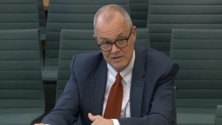 Chief scientific adviser Sir Patrick Vallance appears before the House of Commons Science and Techno