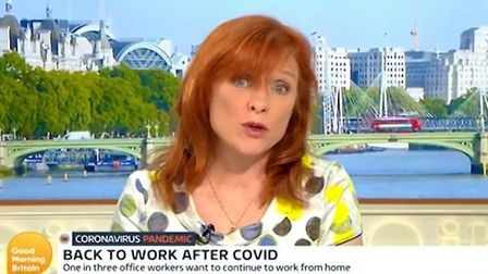 Dr Sarah Jarvis appearing on Good Morning Britain; ChronicleLive