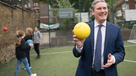 Labour leader Keir Starmer. Picture: Stefan Rousseau/PA