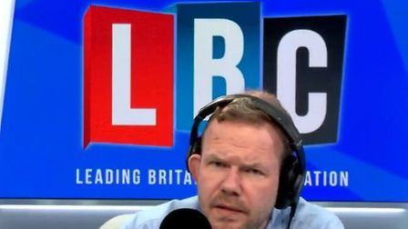 LBC presenter James O'Brien slammed Boris Johnson for his latest coronavirus message; LBC, Twitter
