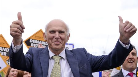 Sir Vince Cable as Lib Dem leader. (Photo by Ken Jack/Getty Images)