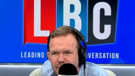 LBC host James O'Brien goes on epic monologue; LBC, Twitter