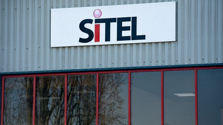 A sign at one of Sitel's two sites in Stratford-on-Avon in Warwickshire. Photograph: Jacob King/PA W