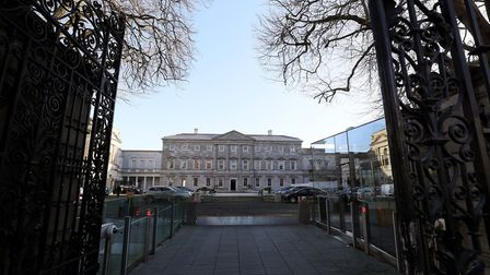 Leinster House, Dublin, the seat of the Oireachtas, the parliament of Ireland; Brian Lawless, PA