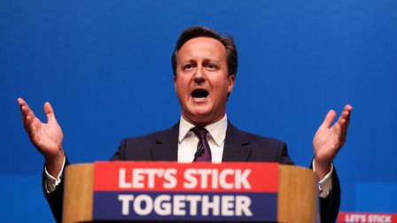 David Cameron makes a speech in Aberdeen where he spoke for the millions across the UK he says would