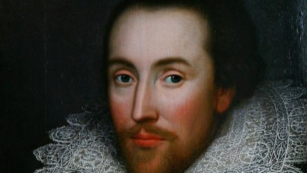 William Shakespeare. Picture: Johnny Green/PA