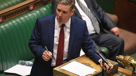 Keir Starmer in the House of Commons. Photograph: Jessica Taylor/House of Commons.