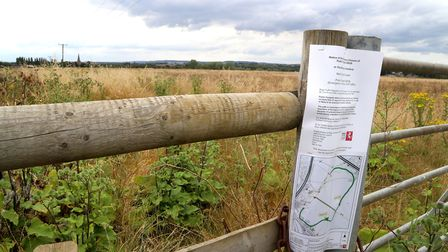 Land around Sevington in Ashford, Kent, as the Department for Transport is understood to be in the p