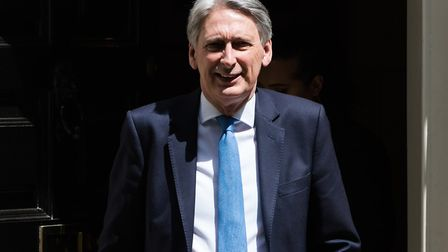 Former Chancellor Philip Hammond has been hired by the Saudi Arabian regime. Picture: Wiktor Szymano