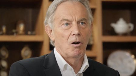 Former prime minister Tony Blair says even a Brexit deal would be bad for UK. Photo: Sky News.