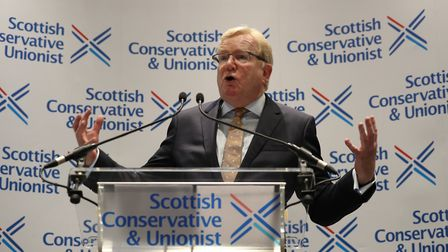 Jackson Carlaw becomes leader of the Scottish Conservatives. Photograph: Andrew Milligan/PA.