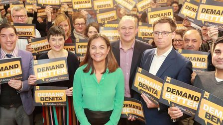Siobhan Benita's first speech as candidate for London mayor in 2020. Photograph: TH Lib Dems.