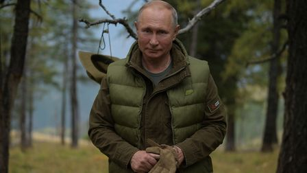 Russian President Vladimir Putin doesn't have to have the last laugh, says James Ball. Picture: ALEX