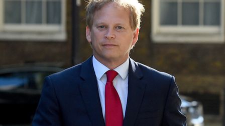 Transport secretary Grant Shapps who is currently taking a break in Spain and will have to self-isol