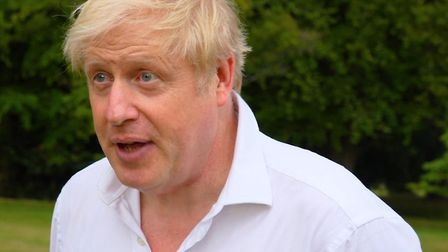 Prime Minister Boris Johnson. Photograph: Number 10 Downing Street/PA Wire .