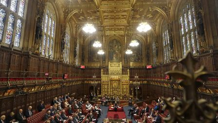 House of Lords in London,