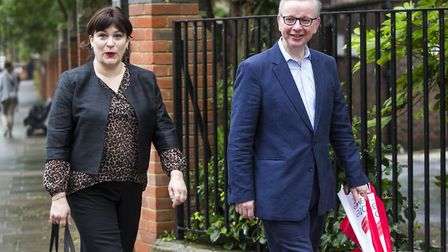 Cabinet minister Michael Gove with his wife Sarah Vine; Jack Taylor/Getty Images