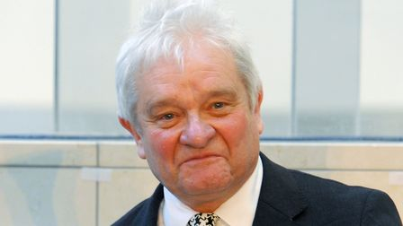 Sir Paul Nurse director of the Francis Crick Institute in central London; Nick Ansell