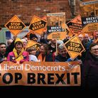 Supporters wait for the arrival of Jo Swinson during the last election campaign. Picture: OLI SCARFF
