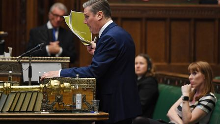 Keir Starmer in the House of Commons. Photograph: House of Commons.