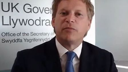 Transport minister Grant Shapps. Photograph: BBC/Twitter