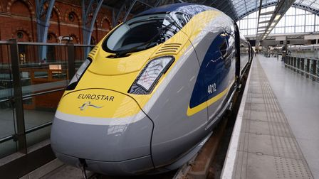 A Trans-Europe Express as part of Eurostar