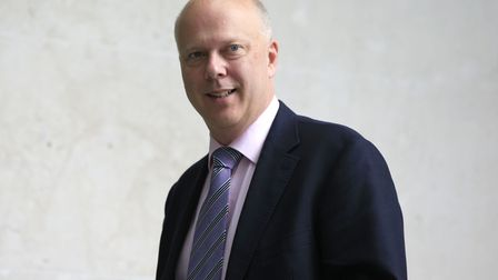Former government minister and transport secretary Chris Grayling