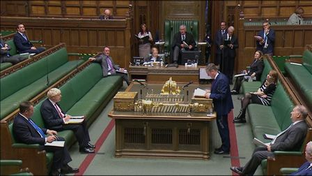Labour leader Keir Starmer speaks during Prime Minister's Questions in the House of Commons: PA Wire