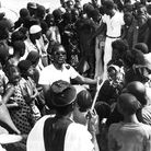 SEMBENE OUSMANE (Photo by Michel RENAUDEAU/Gamma-Rapho via Getty Images)